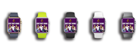 iwatch cut-outs by cut out king